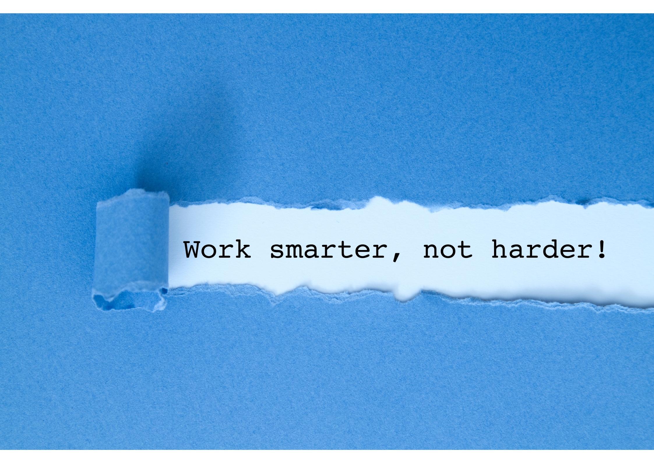 Productiviteit tips slimmer werken